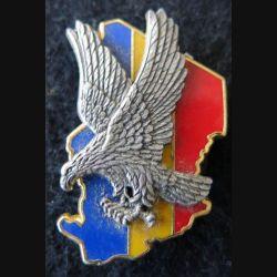 ÉPERVIER : insigne métallique en 2 pièces de l'opération Épervier Guymo Paris