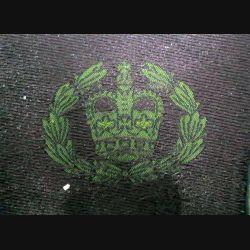 GB : insigne de grade basse visibilité d'adjudant de l'armée britannique