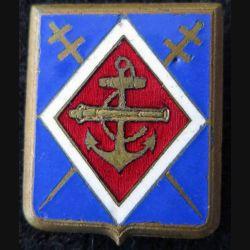 1° RAC : 1° régiment d'artillerie coloniale de fabrication Drago Paris en émail