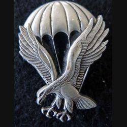 BREVET PARA :  insigne métallique de brevet d'initiation parachutiste CFCA fabrication Delsart
