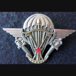 BREVET PARA : Brevet parachutiste du  Dahomey Drago Paris argenté