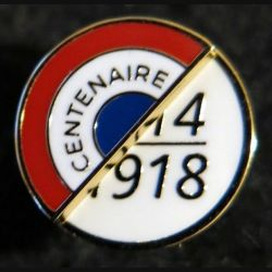 FRANCE : pin's du centenaire de la guerre de 1914-1918 de fabrication GLF 12 mm