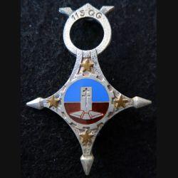 113° CQG : 113° compagnie de quartier général Drago Paris G. 1444 en émail
