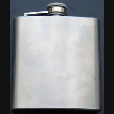 Flasque en étain de 6 oz