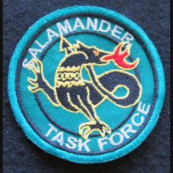 SALAMANDER TASK FORCE : Insigne tissu de la Salamander Task Force 78 mm