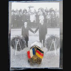 FRANCE : pin's de l'amitié franco-allemande commémoration de 2007