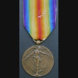 BELGIQUE : médaille interalliée de la Grande Guerre 1914-1918 en bronze