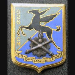 626° CM : 626° compagnie de magasin de fabrication Drago Paris G. 1571 émail