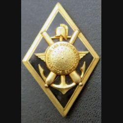 ECOLE : insigne métallique de l'école polytechnique de fabrication LR G. 1980