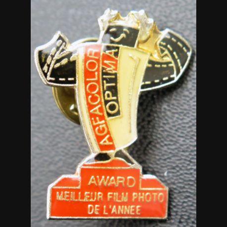 PIN'S : Agfacolor optima Award meilleur film photo de l'année de hauteur 2 ,8 cm