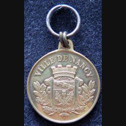 FRANCE : médaille du Concours des sports nanceiens (ville de Nancy) des 23 et 24 juin 1877