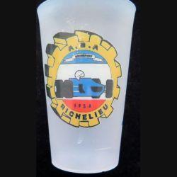 Gobelet plastique publicitaire A.S.A Richelieu FFSA (C205)