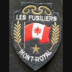 insigne tissu des Fusiliers Mont-Royal