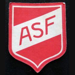 insigne tissu ASf