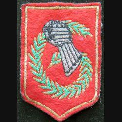 6° DLB : insigne tissu de la 6° division légère blindée 6 x 9 cm