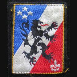 3° CA : insigne tissu du 3° corps d'armée sur crochets