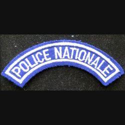 bande d'épaule de la police nationale 12 cm de largeur sur scratch