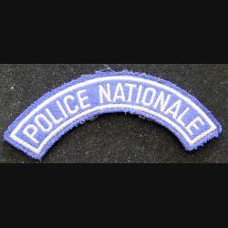 bande d'épaule de la police nationale 12 cm de largeur