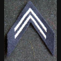Galon argenté en tissu de calot de Lieutenant