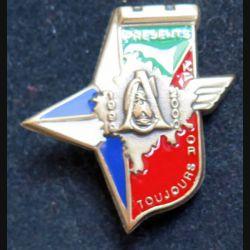 17° RGP CA KFOR : CA du 17° régiment du génie parachutiste KFOR 1999-2000 en bronze massif  peint