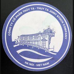 DESSOUS DE VERRE A BIÈRE : Hôtel Thuy Ta Ha Noi Viet Nam  de 9,5 cm de diamètre