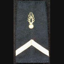 fourreau d'épaule de maréchal des logis de gendarmerie mobile