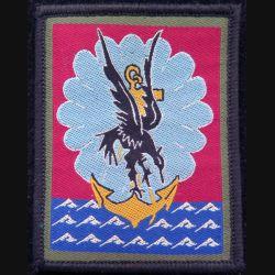 11° DP : insigne tissu de la 11° division parachutiste sur scratch