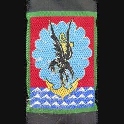 11° BP : insigne tissu de la 11° brigade parachutiste