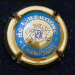 Capsule Muselet de bouteille de champagne De Cazanove (L3)