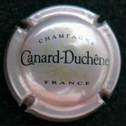 Capsule Muselet de bouteille de champagne Canard Duchêne rosé violacé (L4)