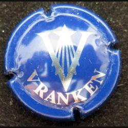 Capsule Muselet de bouteille de champagne Vranken bleu et métal (L4)