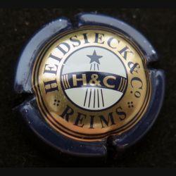 Capsule Muselet de bouteille de champagne Heidsieck et Cie (L4)