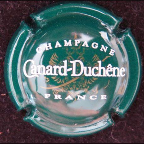 Capsule Muselet de bouteille de champagne Canard Duchêne vert bouteille (L4)