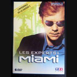 DVD : LES EXPERTS MIAMI l'intégrale de la Saison 5 (24 épisodes 6 DVD) (C207)