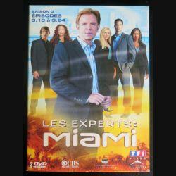 DVD : LES EXPERTS MIAMI Saison 3 (épisodes 3.13 à 3.24 3 DVD) (C207)