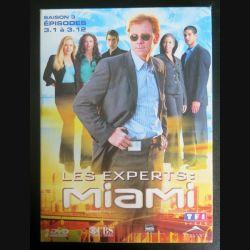 DVD : LES EXPERTS MIAMI Saison 3 (épisodes 3.1 à 3.12 3 DVD) (C207)
