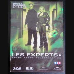 DVD : LES EXPERTS Saison 2 (épisodes 2.1 à 2.12 3 DVD) (C207)