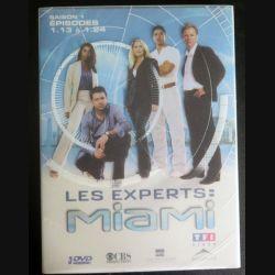 DVD : LES EXPERTS MIAMI Saison 1 (épisodes 1.13 à 1.24 3 DVD) (C207)