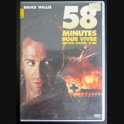 DVD : 58 minutes pour vivre Die Hard 2 avec Bruce Willis (C207)