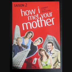 DVD : How I met your mother comment je l'ai rencontré saison 2 (3 DVD) (C207)