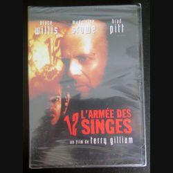DVD : l'Armée des 12 singes avec Bruce Willis, Madeleine Stowe et Brad Pitt (C207)