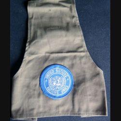 ONU : brassard kaki d'épaule des Nations Unies - United Nations de hauteur 27 cm (C206)