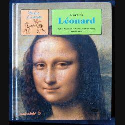 L'art de Léonard (Livre jeux) écrit par Sylvie Girardet aux éditions Musée en herbe rmn Grand Palais - F001
