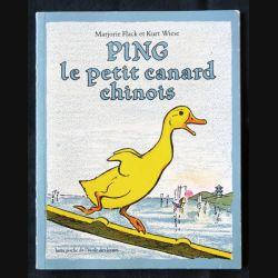 Ping le petit canard chinois écrit par Marjorie Flack aux éditions L'école des loisirs - F001