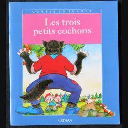 Les trois petits cochons écrit par Serge Ceccarelli aux éditions Nathan - F001