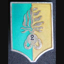 2° REI : compagnie montée du 2° régiment étranger d'infanterie grand modèle vert et ocre De fabrication Drago R 77