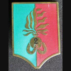 2° REI : compagnie montée du 2° régiment étranger d'infanterie grand modèle vert et rouge De fabrication Drago R 77