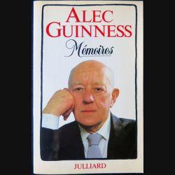 Mémoires écrit par Alec Guinness aux éditions Julliard - F002
