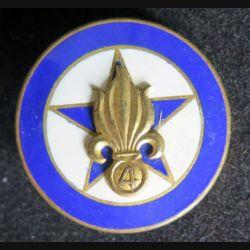 4° REI : compagnie régimentaire du 4° régiment étranger d'infanterie Drago émail