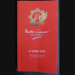 Maîtres Cuisiniers de France le Guide 2020 (C206)